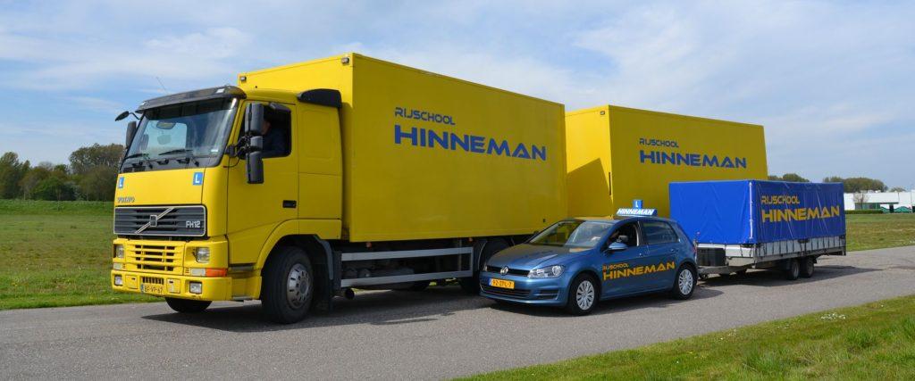 Rijschool Hinneman Auto Motor Vrachtwagen Aanhanger